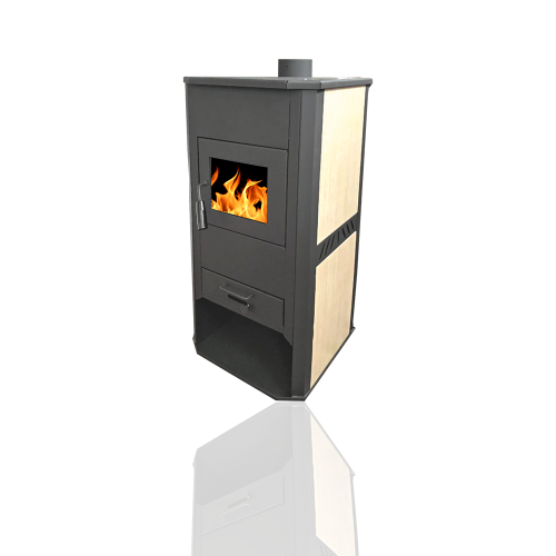 Central heating stove